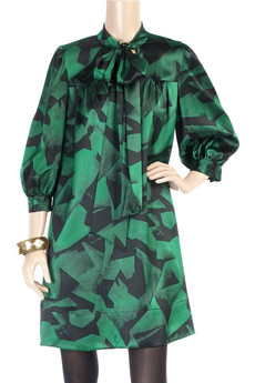 DKNYPrinted tunic dress
