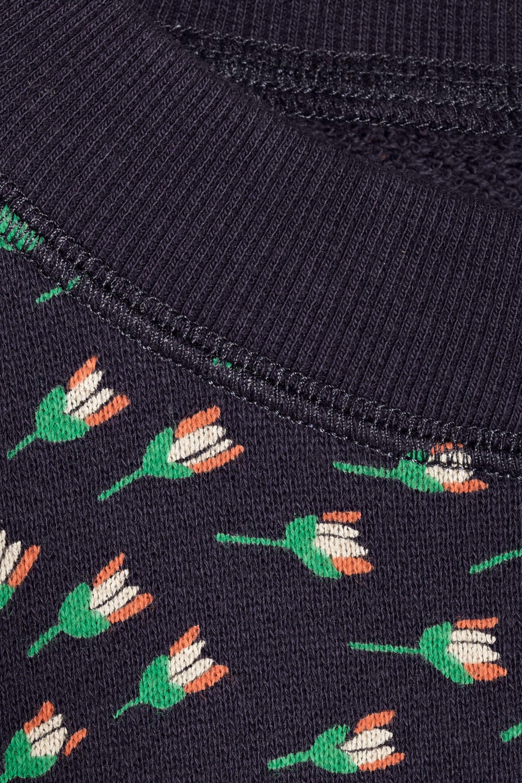 Band of Outsiders Tulip-print cotton-terry sweatshirt
