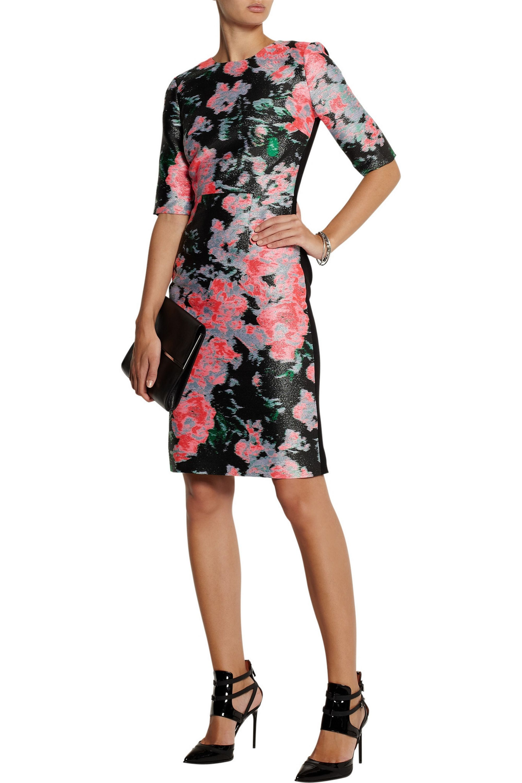 Erdem Ivy silk-blend jacquard dress