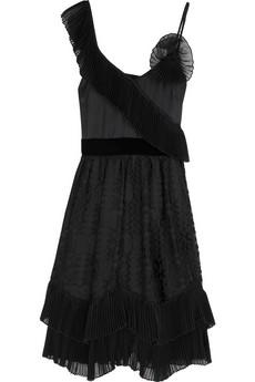 Anna SuiSilk ruffle dress