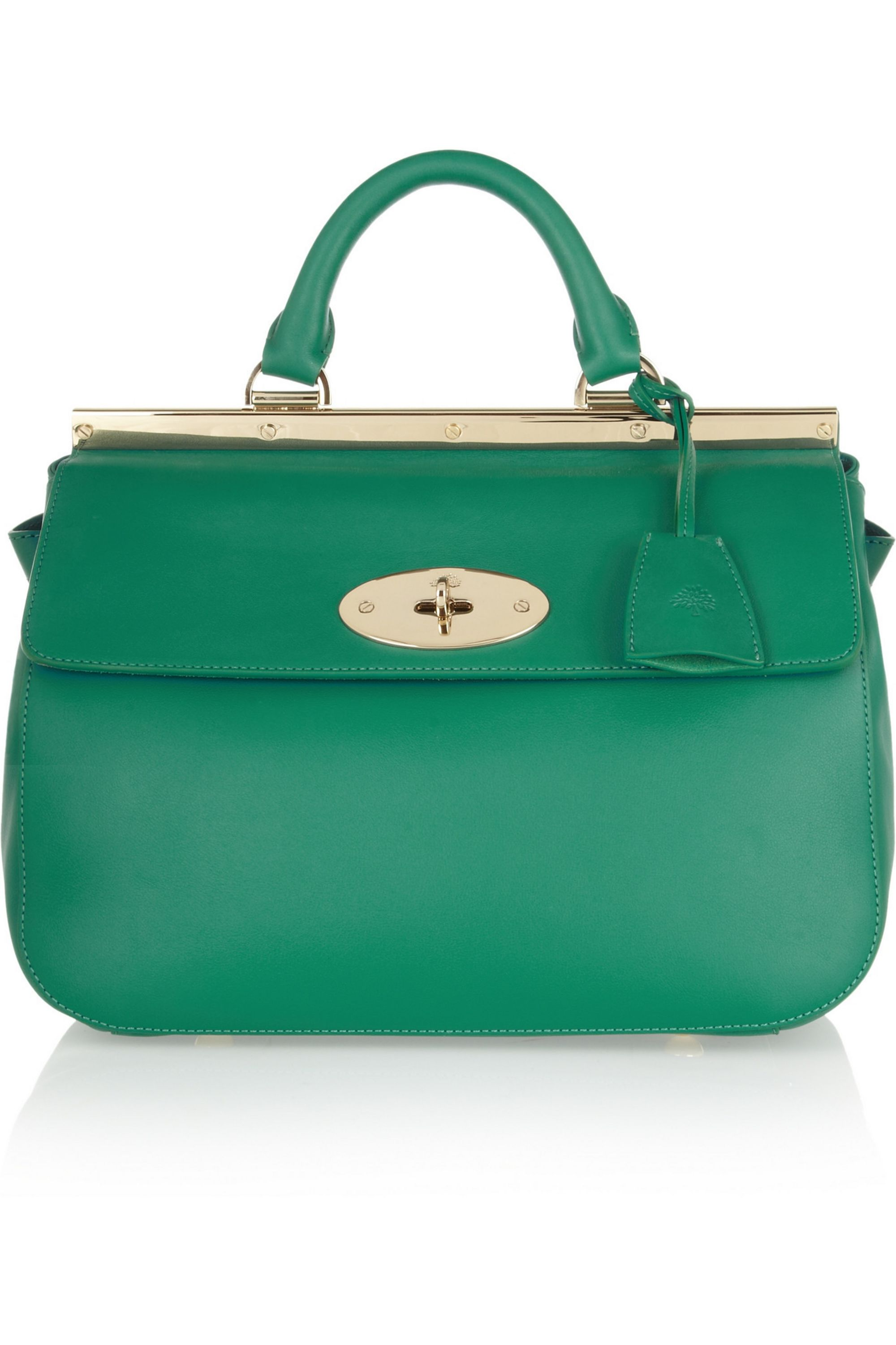 Mulberry Suffolk small leather tote