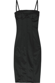 D&G Dolce & Gabbana Fitted bustier dress