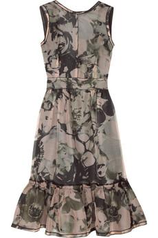 D&G Dolce & Gabbana Floral organza dress