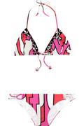 Emilio Pucci Cancello print bikini