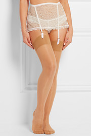 Seamed 15 denier stockings