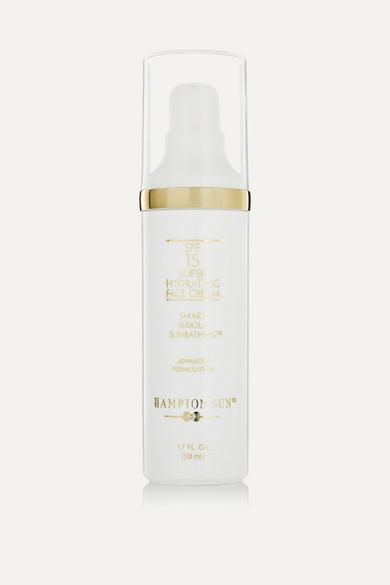 HAMPTON SUN Spf15 Super Hydrating Face Cream, 50Ml - Colorless