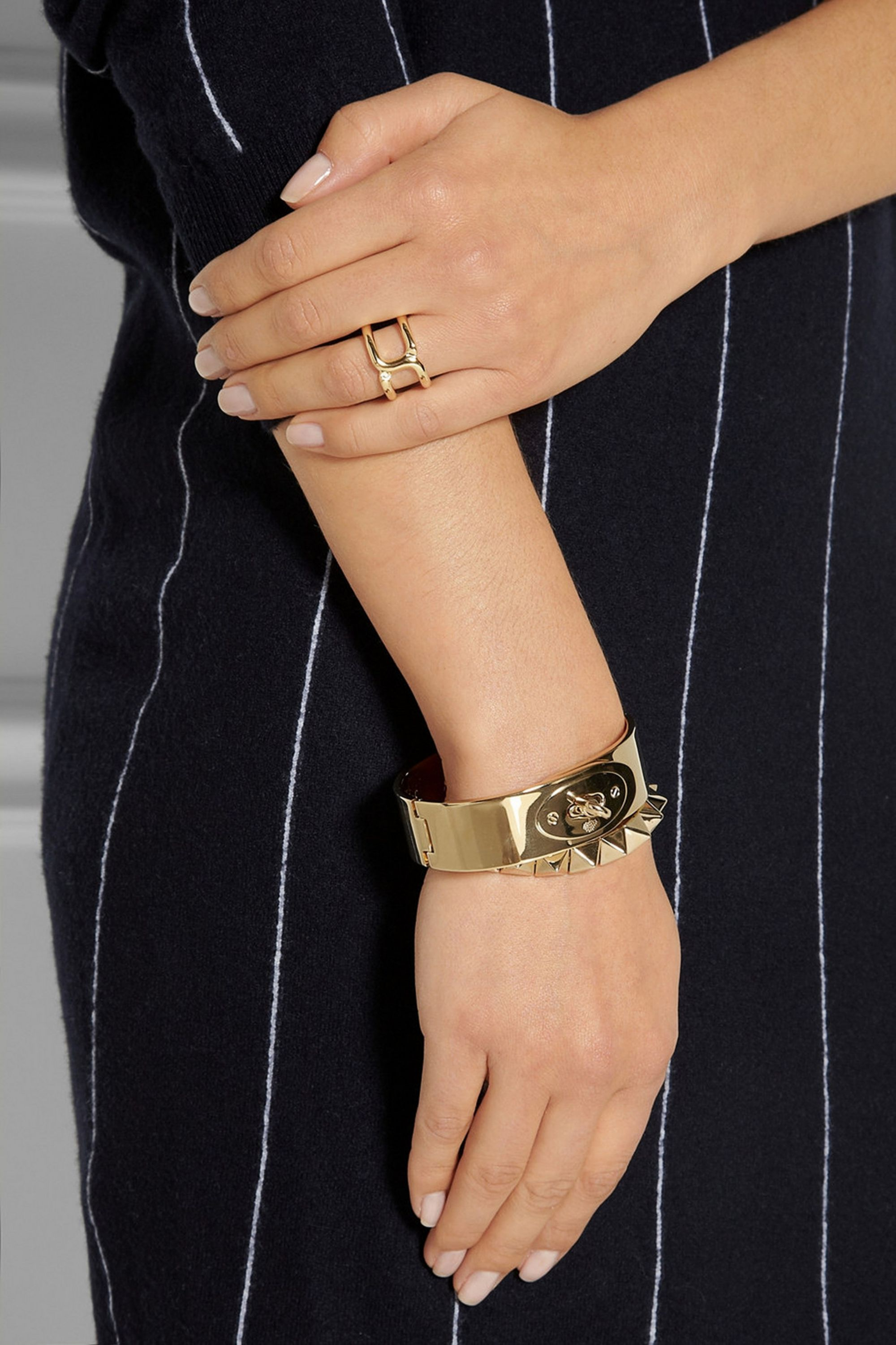 Chloé Marcie gold-plated ring