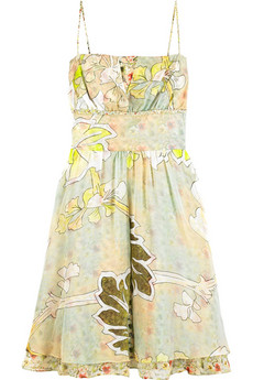 Diane von Furstenberg Firenze floral dress