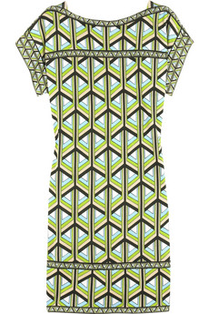 Diane von Furstenberg Calotta printed dress