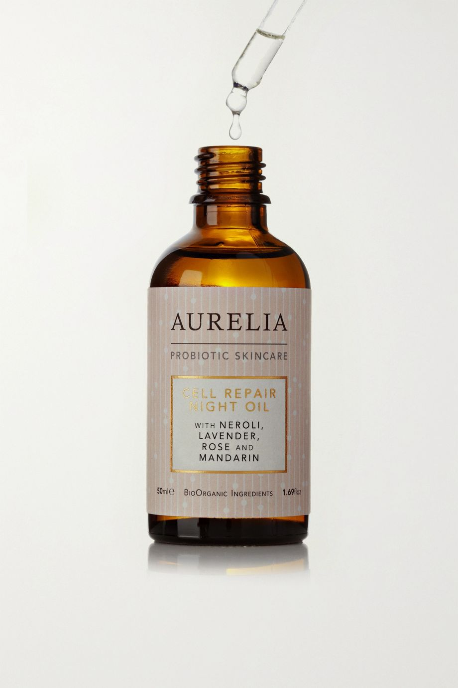 Aurelia Probiotic Skincare + NET SUSTAIN Cell Repair Night Oil, 50ml