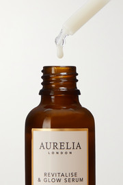 Aurelia Probiotic Skincare Revitalize & Glow Serum, 30ml