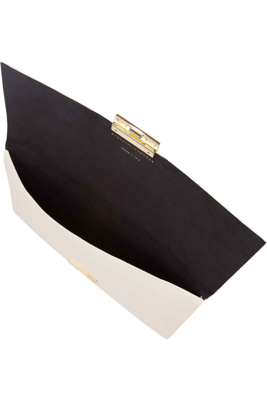 Stella McCartney Faux leather clutch