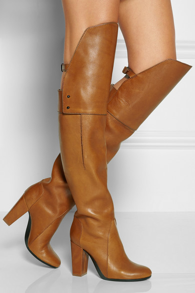 3.1 Phillip Lim | Leather over-the-knee boots | NET-A-PORTER.COM