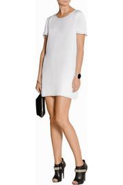 T by Alexander WangSilk-georgette mini dress