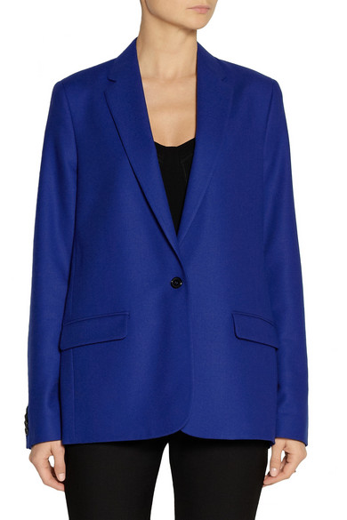 Acne studios florian wool twill blazer net a porter com for How to make a prototype shirt