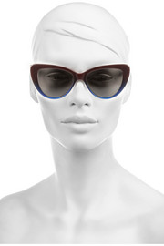 Prism Capri cat eye acetate sunglasses