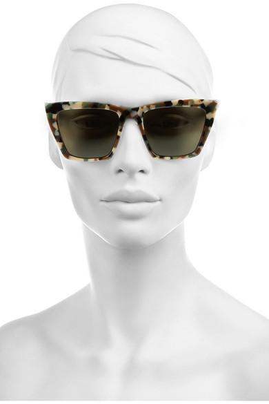 Prism Sydney Sunglasses  prism sydney square frame acetate sunglasses net a porter com
