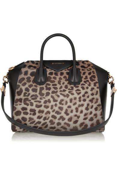 68e0d0df23 Givenchy. Medium Antigona bag in leopard print ...