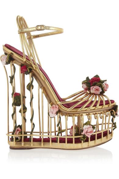Dolce & Gabbana Flowers Heel