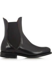 Alaïa Leather Chelsea boots