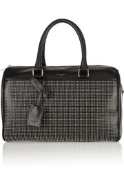 Saint Laurent Classic Duffle 6 studded leather bag