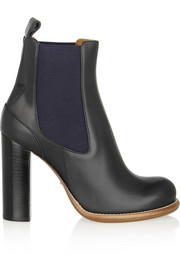 Chloé Leather chelsea boots