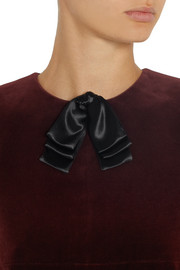 Saint Laurent Satin neck bow