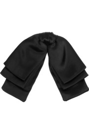 Satin neck bow