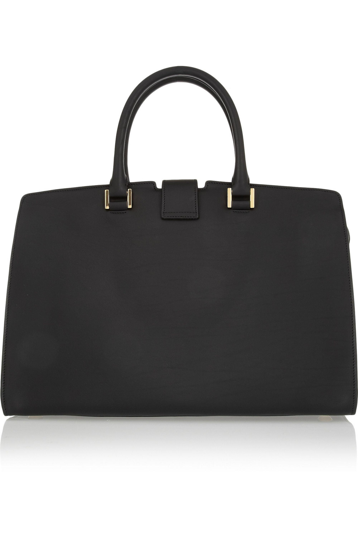 SAINT LAURENT Cabas Chyc medium leather shopper