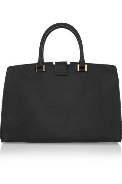 Saint Laurent | Cabas Chyc medium leather shopper | NET-A-PORTER.COM