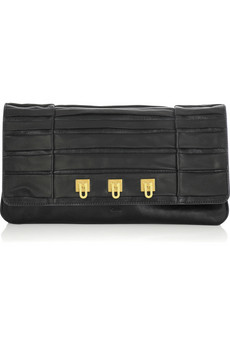 Chloé Lucy pleated clutch