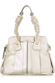ChloéHeloise metallic shoulder bag
