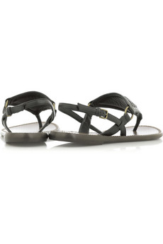 Bottega Veneta Triangular thong sandals