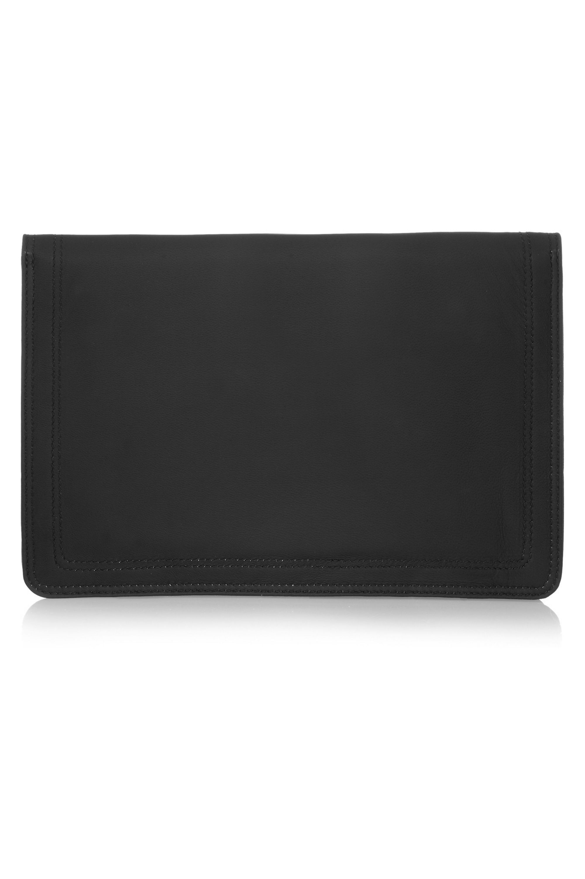 Givenchy Clutch in Bambi-printed black nappa leather
