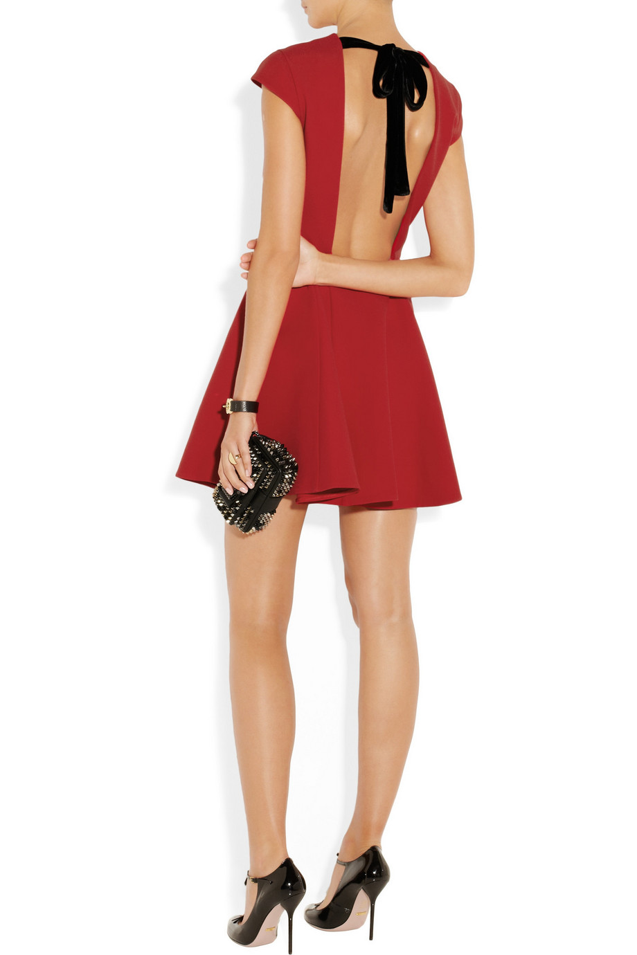 MIU MIU Open-back cady dress | Fancy Friday - Valentine's Day Dresses
