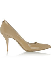 MICHAEL Michael Kors Flex patent-leather pumps