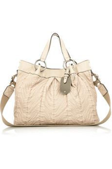 Mulberry Tumbled Shimmy Tote