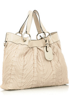 MulberryQuilted Shimmy tote