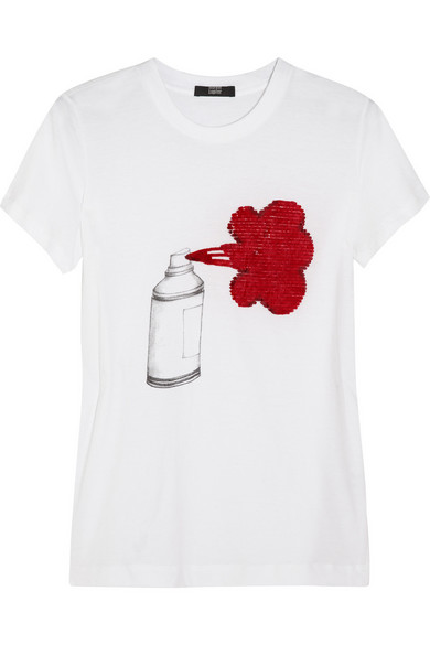markus lupfer spray can paint cotton jersey t shirt. Black Bedroom Furniture Sets. Home Design Ideas