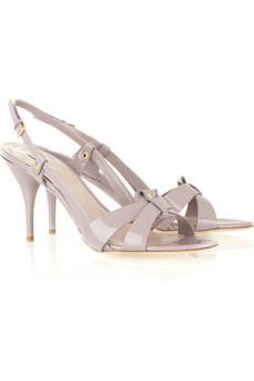 Miu Miu Crossed strap sandals