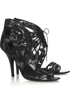 Givenchy Lace ankle sandals