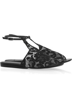 Givenchy Lace-front sandals