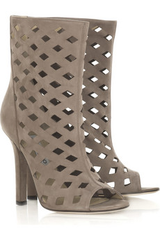 Jimmy Choo Reese cutout suede boots