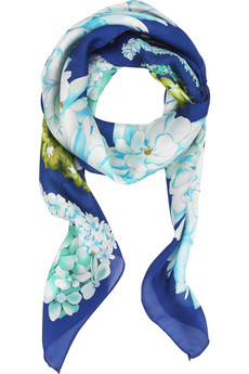 MissoniFloral silk scarf