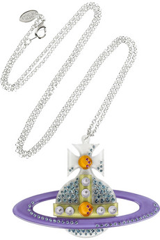 Vivienne Westwood Diamanté orb necklace