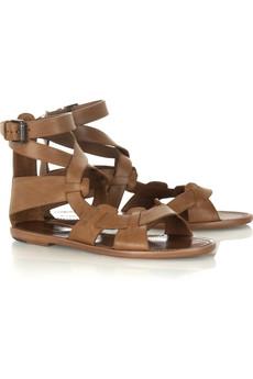 Bottega VenetaGladiator flat sandals