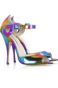 Brian Atwood Margie peep-toe sandals