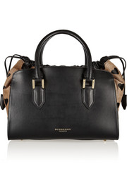 Burberry Prorsum Printed calf hair and leather tote