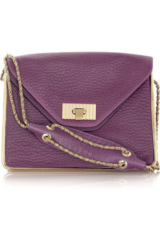 Chloé Sally calf leather shoulder bag | NET-A-PORTER.COM from net-a-porter.com