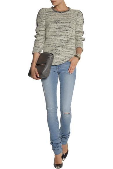 FRAME | Forever Karlie long-length skinny jeans | NET-A-PORTER.COM